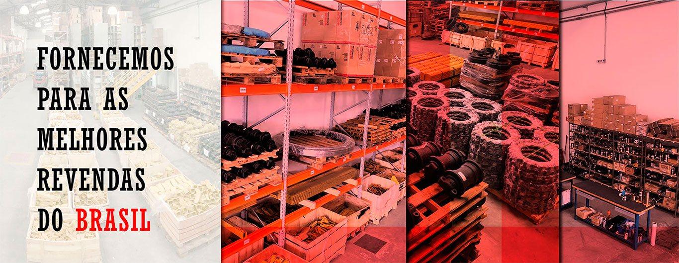 Distribuidor de peças para tratores